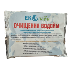 Биопрепарат для очистки водоёмов Очистка Водоёмов 20г ЭКОЛАЙН