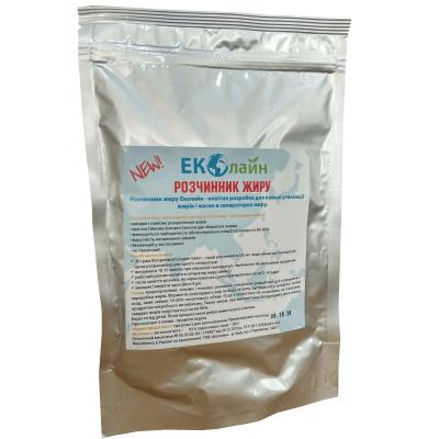 Биопрепарат для расщепления жиров Растворитель Жира 320г  ЭКОЛАЙН