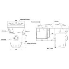 Навесная фильтрующая установка GRI 110 Desjoyaux