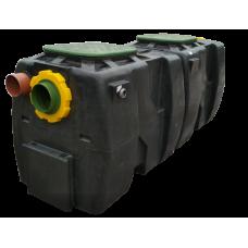 Сепаратор нефтепродуктов с отстойником и байпасом OIL SB 10/50