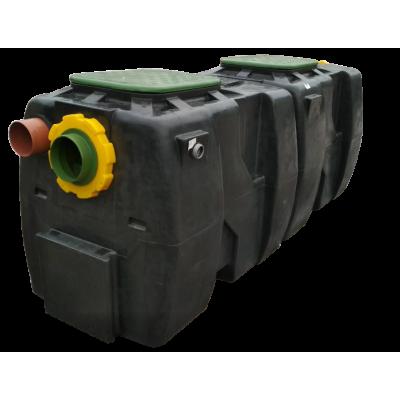Сепаратор нефтепродуктов с отстойником и байпасом OIL SB 5/25
