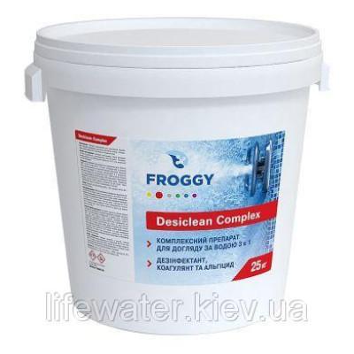 Хлор-длительный 3в1 таблетки 200 Desiclean Complex FROGGY 25кг