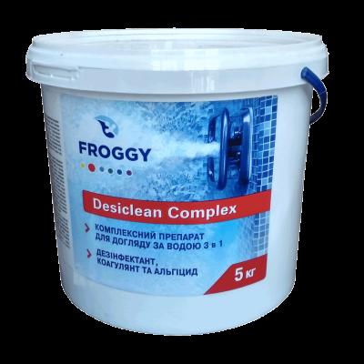 Хлор длительного действия 3 в 1, 5кг FROGGY Long Chlor Tabs 200