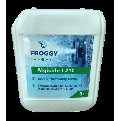 Альгицид непенящийся 5 л FROGGY L210
