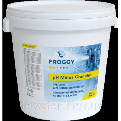 Средство для понижения уровня PH воды в бассейне PH-Minus Granules FROGGY 25кг