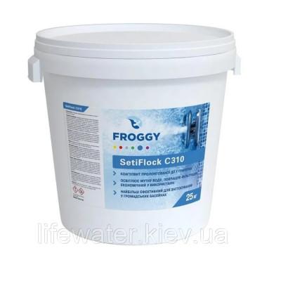 Коагулянт в гранулах SetiFlock C310 FROGGY 25 кг