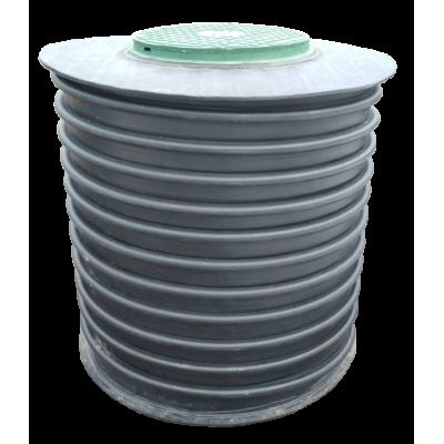 Емкость КНС H-1500мм D-890мм