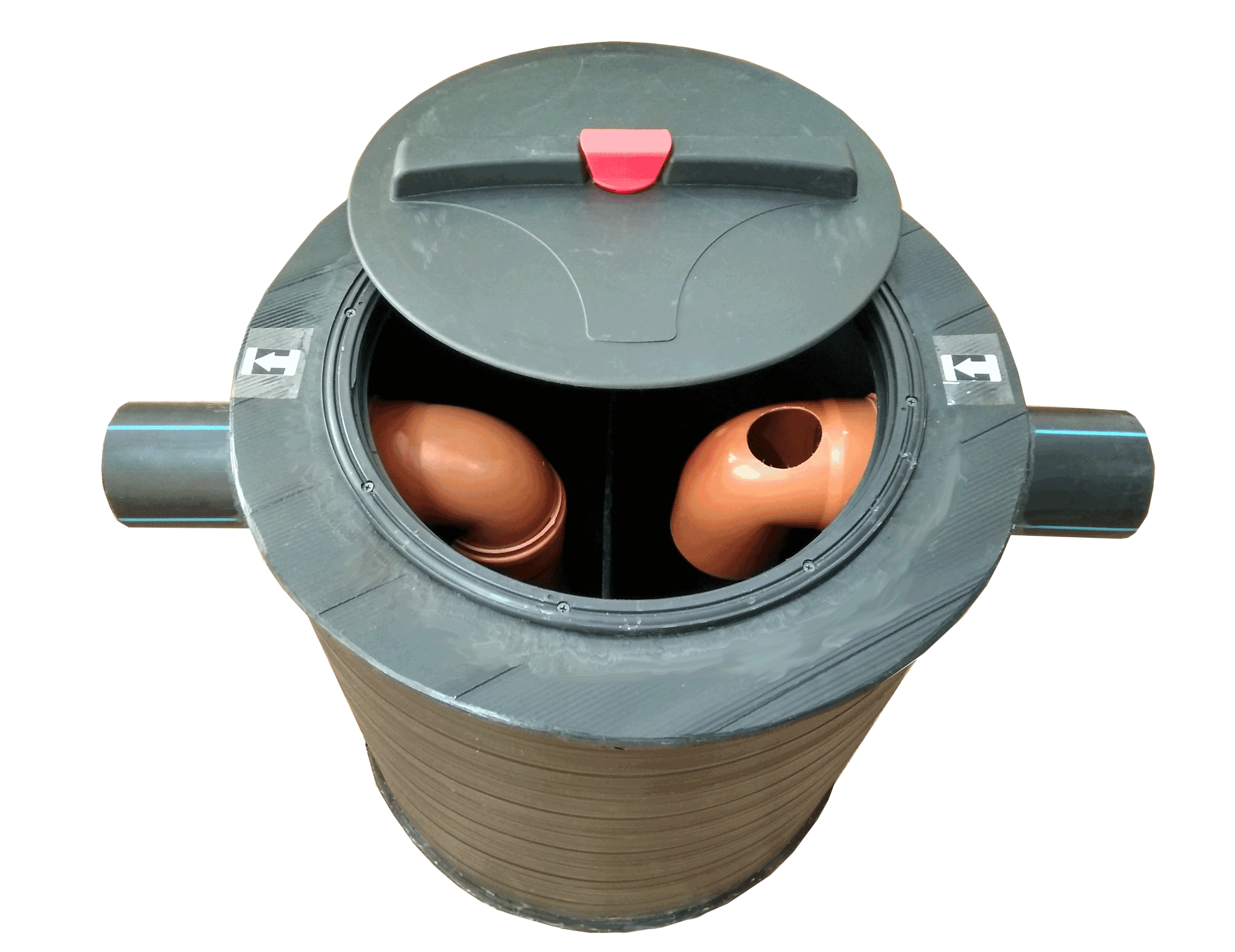 Сепаратор жира с отстойником  внутренний 1,5л/сек.
